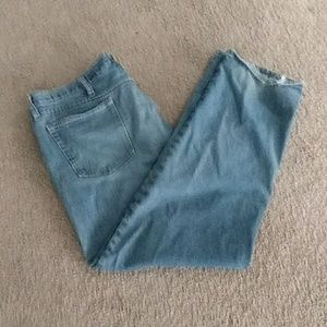 Mens well worn jeans
